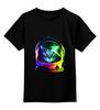 """Детская футболка классическая унисекс """"Кот космонавт"""" - кот, арт, космос, абстракция, космонавт"""