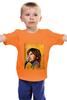 "Детская футболка классическая унисекс ""alone in the universe"" - music, rap, jon, lajoie"