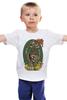 "Детская футболка классическая унисекс ""Graffiti is not DEAD!"" - skull, череп, скелет, граффити, хипстер, graffiti, street art, утка, балончик, балончик с краской"