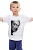 """Детская футболка классическая унисекс """"Salvador Dali"""" - сальвадор дали, усы, salvador dali"""
