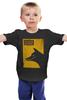 "Детская футболка классическая унисекс ""The Wolf of Wall Street dog"" - кино, мартин скорсезе, kinoart, the wolf of wall street, волк с уолл-стрит"
