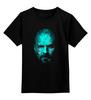 "Детская футболка классическая унисекс ""Гейзенберг"" - абстракция, во все тяжкие, breaking bad, гейзенберг, walter white, уолтер уайт, heisenberg"