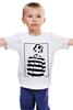 """Детская футболка классическая унисекс """"I'm not a number. I'm a person """" - любовь, юмор, charlie chaplin, чарли чаплин, узник"""