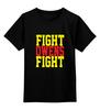"""Детская футболка классическая унисекс """"Fight Owens Fight (WWE)"""" - wwe, кевин стин, кевин оуэнс, kevin steen, kevin owens"""