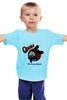 """Детская футболка классическая унисекс """"Удачливый кролик Освальд """" - дисней, кролик, освальд, oswald, lucky rabbit"""