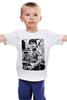 """Детская футболка классическая унисекс """"Брюс Ли с тату"""" - tattoo, винтаж, тату, bruce lee, ли, брюс"""