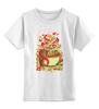 """Детская футболка классическая унисекс """"Поздравляем с 8 марта!"""" - женский день, поздравляем с 8 марта"""
