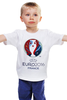 """Детская футболка классическая унисекс """"evro 2016"""" - футбол, france, франция, евро, uefa, уефа, 2016, чемпионат европы"""