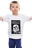 "Детская футболка классическая унисекс ""Adidas ""Stormtrooper/Scateboarding"""" - adidas, stormtrooper, штурмовик, skateboarding"