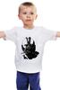 """Детская футболка классическая унисекс """"Суперзлодей комиксов - Бэйн"""" - batman, бэйн, bane, бэтман, темный рыцарь, dark knight"""