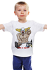 """Детская футболка классическая унисекс """"Clown the Pukie"""" - clown, crossfit, puki, кроссфит"""