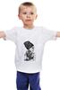 """Детская футболка классическая унисекс """"Модные браслеты"""" - девушка в платке, рисунок по фото, девушка в браслетах"""