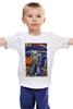 """Детская футболка """"Bad Robot"""" - red, винтаж, robot, робот, иллюстрация, blue, vintage, журнал, обложка"""