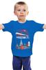 """Детская футболка """"Moscow. Establshed in 1147"""" - москва, moscow, россия, city, мой город"""