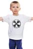 "Детская футболка ""Логотип гранж"" - сталкер, stalker, тёмная душа"