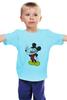 """Детская футболка """"Микки-троль"""" - юмор, приколы, mickey mouse"""