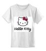 "Детская футболка классическая унисекс ""Hello Kitty"" - hello kitty, хеллоу китти"