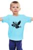 """Детская футболка классическая унисекс """"""""Совы не то, чем кажутся!"""" в загадочно-сером"""" - совы, твин пикс, умный фан-арт, дэвид линч, агент купер"""
