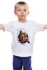 """Детская футболка классическая унисекс """"Wolverine. Marvel"""" - comics, росомаха, люди икс, marvel, x-men, wolverine, логан"""