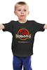 """Детская футболка классическая унисекс """"Jurassic Park / Парк Юрского Периода"""" - динозавры, иероглифы, парк юрского периода, jurassic park, kinoart"""