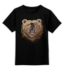 """Детская футболка классическая унисекс """"Пиксельный Медведь"""" - bear, медведь, pixel art, пиксели, 8 бит"""