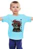 """Детская футболка классическая унисекс """"Тоторо Самурай"""" - аниме, самурай, тоторо, мой сосед тоторо"""
