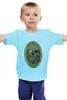 """Детская футболка """"с черепом"""" - skull, череп, скелет, с черепом, хипстер, пират, hipster, sailor, старый моряк"""