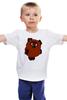"""Детская футболка классическая унисекс """"Винни-Пух"""" - мультик, медведь, винни-пух, советский мультфильм"""