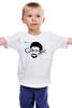 """Детская футболка классическая унисекс """"Edward Snowden"""" - америка, россия, цру, edward snowden, эдвард сноуден"""