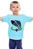 """Детская футболка классическая унисекс """"Кроссы на Ракете"""" - ракета, rocket, sneaker, кроссы"""