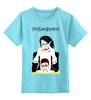 "Детская футболка классическая унисекс ""Marilyn Manson"" - арт, юмор, marylin manson, мерилин менсон"