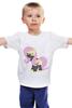 """Детская футболка классическая унисекс """"Ninja Fluttershy"""" - ниндзя, pony, mlp, пони, fluttershy, ninja"""