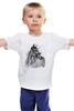 """Детская футболка классическая унисекс """" """"С Новым Годом Лошади"""""""" - лошадь, new year, horse"""