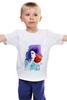"""Детская футболка классическая унисекс """"Girl In Colors"""" - девушка"""