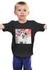 """Детская футболка """"Happy Together """" - любовь, 14 февраля, поцелуй, вместе, день влюбленных"""
