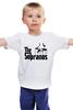 """Детская футболка классическая унисекс """"Клан Сопрано (The Sopranos)"""" - мафия, клан сопрано, the sopranos"""