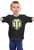 "Детская футболка классическая унисекс ""World of Tanks"" - world of tanks, wot"