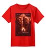 "Детская футболка классическая унисекс ""Red-Dragon / Красный Дракон"" - канибал, tattoo, дракон, тату, kinoart"