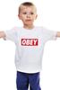 """Детская футболка классическая унисекс """"swag swag"""" - swag, obey"""