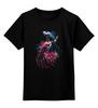 """Детская футболка классическая унисекс """"Аквариумные рыбки"""" - абстракция, рыбки"""