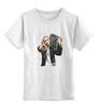 """Детская футболка классическая унисекс """"Эминем (Eminem)"""" - eminem, эминем, слим шейди"""