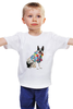 """Детская футболка классическая унисекс """"Собака, на пляже отдыхака"""" - отдых, собака, пляж, beach, гавайская рубашка, french bulldog, французский бульдог"""