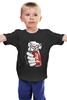 """Детская футболка классическая унисекс """"Джокер (Joke)"""" - joker, джокер, cola, кола"""