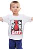 "Детская футболка ""OBEY"" - путин, obey, putin, дмитрий медведев"