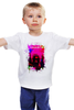 "Детская футболка классическая унисекс ""Арт Будда"" - йога, buddha, будда, намасте"