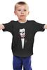 """Детская футболка классическая унисекс """"Крёстный отец - Джокер"""" - joker, комиксы, джокер, крёстный отец, шутник"""