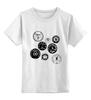 "Детская футболка классическая унисекс ""Do the Ton"" - honda, kawasaki, do the ton, caferacer, speedometer, спидометр, dotheton, yamaha, caferacers, cafe-racer"