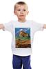 """Детская футболка """"ретро монтана"""" - ретро, горы, иллюстрация, сша, монтана"""