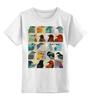 """Детская футболка классическая унисекс """"Птицы """" - птицы, birds"""