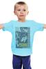 """Детская футболка """"Psycho """" - ужасы, альфред хичкок, psycho, kinoart, психо"""